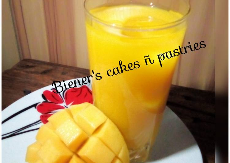 Simple Way to Prepare Perfect Mango juice