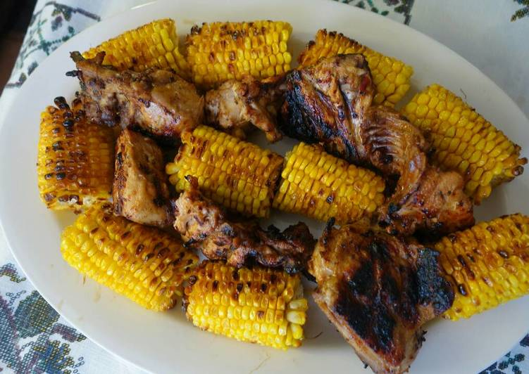 How to Prepare Homemade Grilled sweet corn