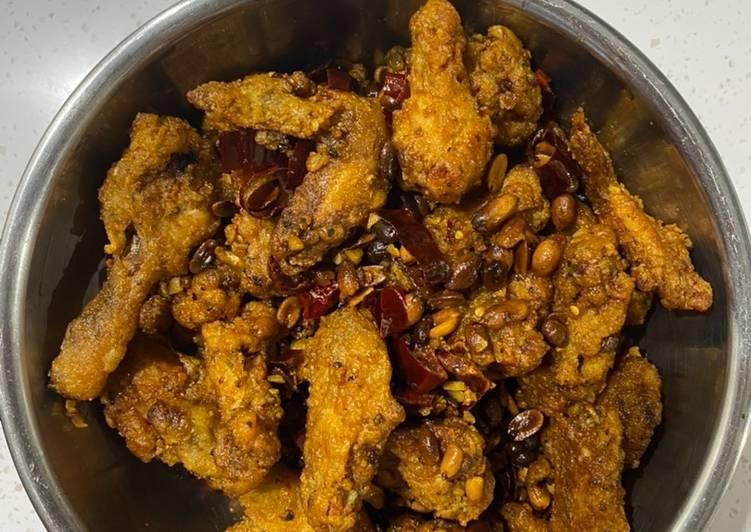 Ayam Goreng Korea (Dakgangjeong: 닭강정)