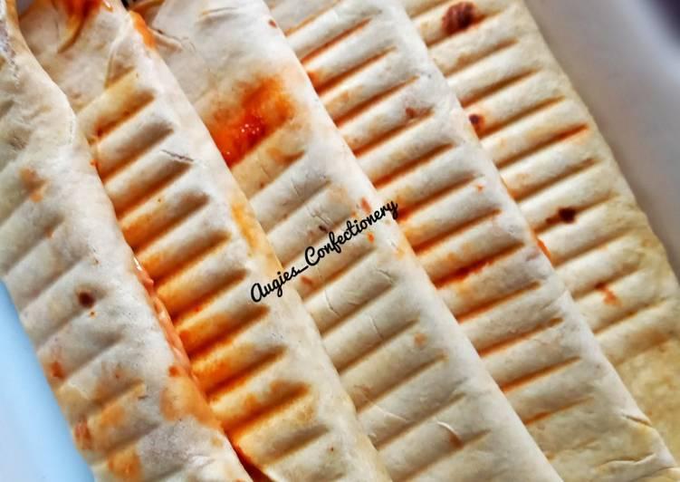 Steps to Make Perfect Vegetable shawarma