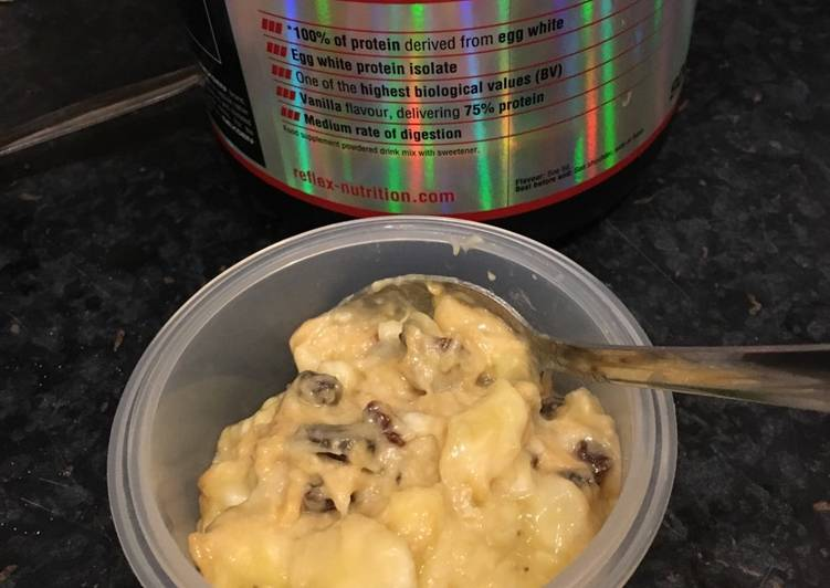 Simple Way to Prepare Super Quick Homemade Banana, Peanut Butter and Protein