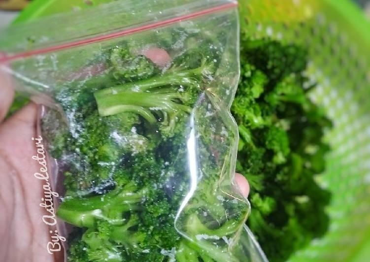 Tips/Cara Menyimpan Brokoli agar tahan lama