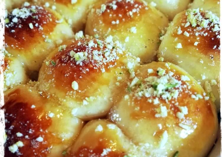 Recipe of Favorite Condensed Milk Rolls