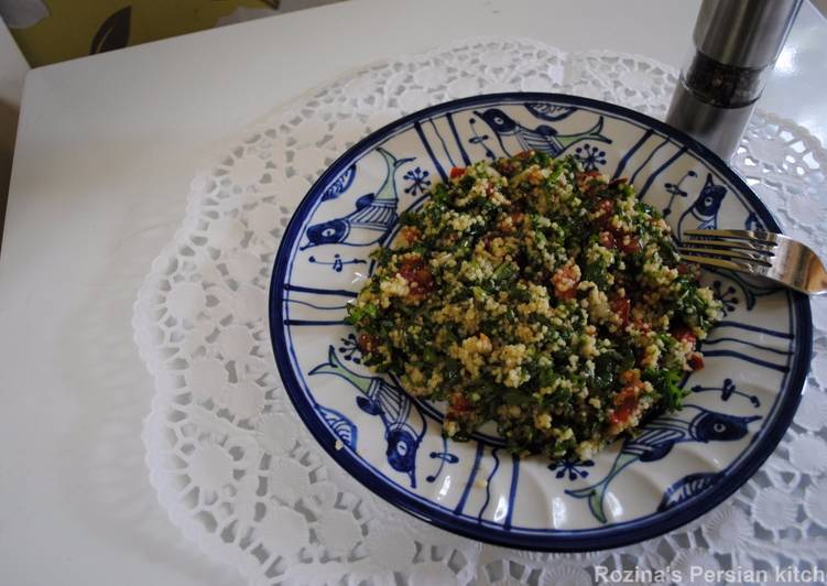 Simple Way to Prepare Super Quick Homemade Tabbouleh Salad