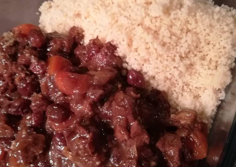 Curry d'agneau aux épices douces et lait de coco