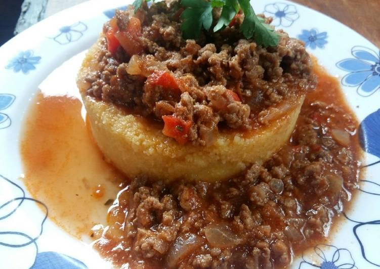 Salsa bolognesa! Especial para polenta #hacefrioo❄