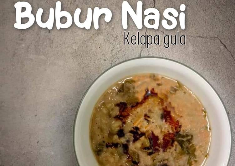 Bubur Nasi Kelapa Gula - resepipouler.com