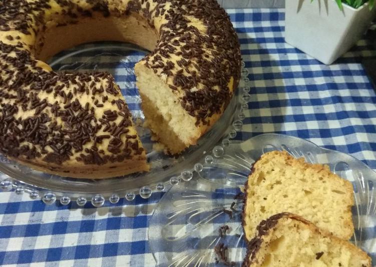 Bluder Cake Ekonomis 1 telur
