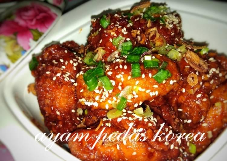 Ayam Pedas Korea citarasa Malaysia - velavinkabakery.com