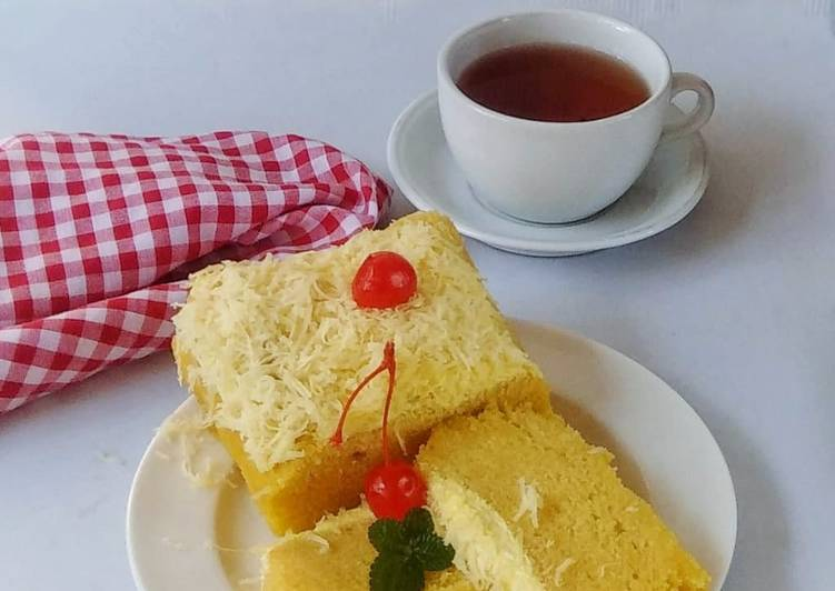 resep masak Bolu susu keju kukus #BandungRecook2_Widynaura - Sajian Dapur Bunda