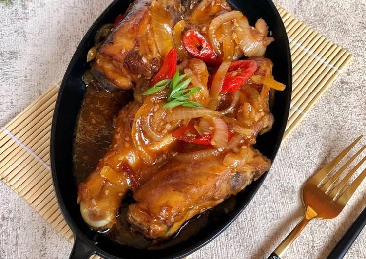 Ayam Goreng Saus Thailand