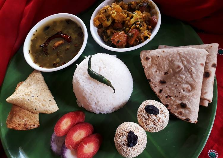 Easiest Way to Prepare Award-winning Winter Complete thali
