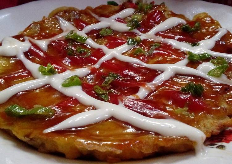 Japanese Okonomiyaki by Leli