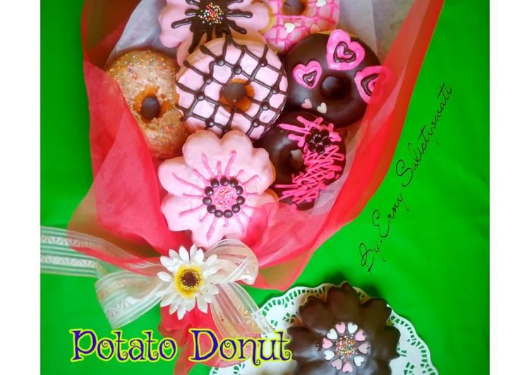 🍩Potato Donut Bouquet🍩