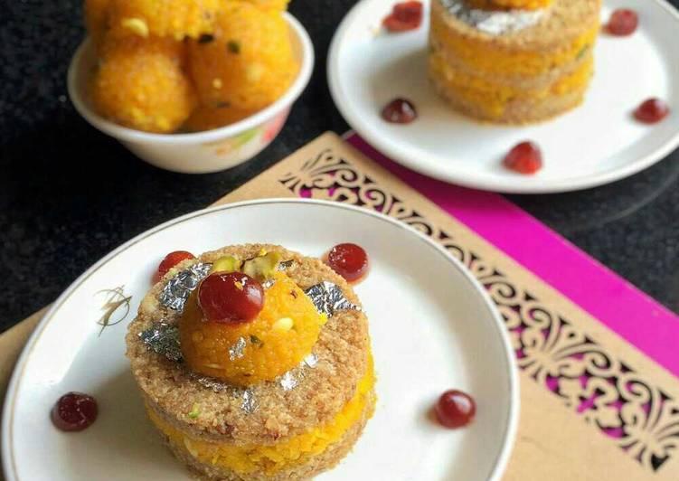 How to Make Perfect Kharek, Khuskhus and Boondi cake