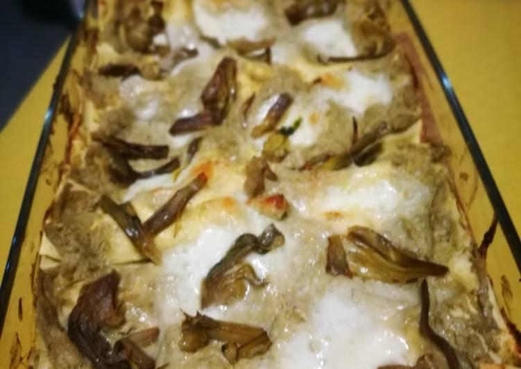 Recipe: Appetizing Lasagne con crema di carciofi