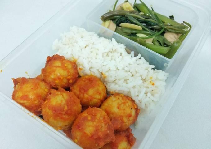 Bakso Tempe Pedas Manis (Diet Version) - 110 Kalori / Serving