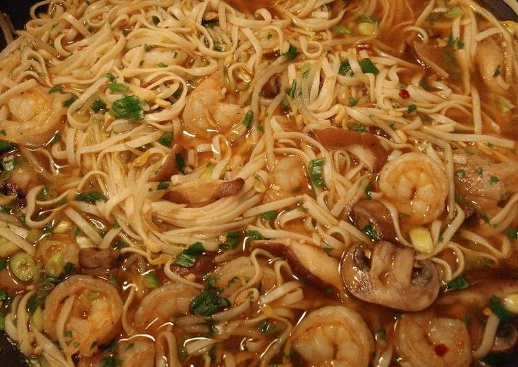 Recipe: Appetizing Shrimp noodle soup
