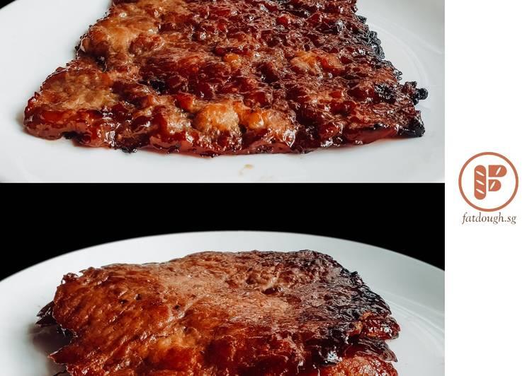 Bak Kwa | 肉干 | Chinese BBQ Chicken Jerky