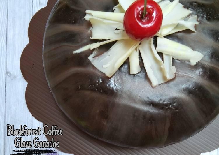 Blackforest Coffee Glaze Ganache