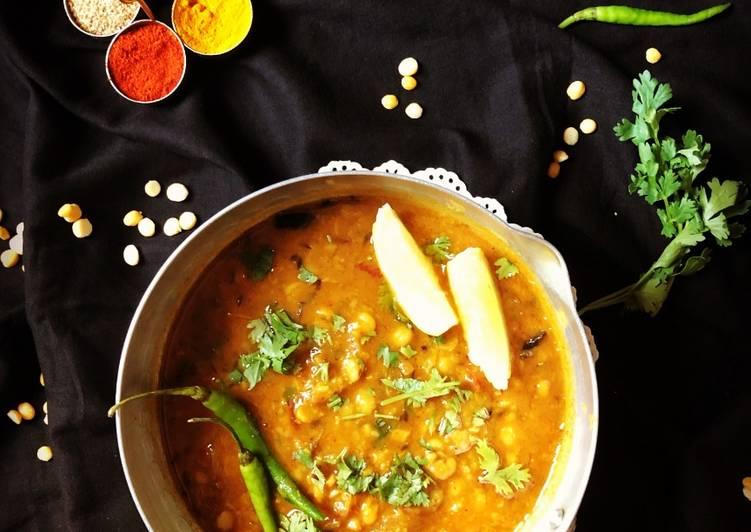 Easiest Way to Make Super Quick Homemade Punjabi Chana Dal