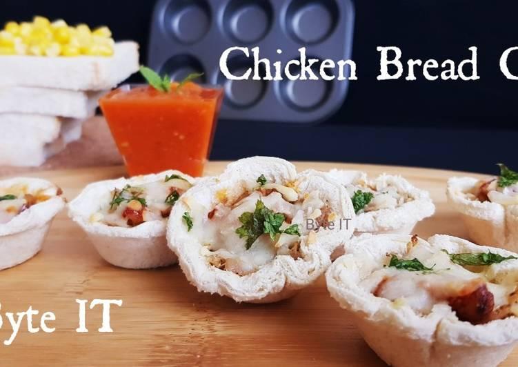Chicken bread cups