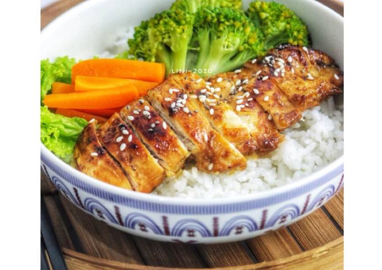 Ayam panggang wijen - ayam panggang teflon - grill chicken - cookandrecipe.com