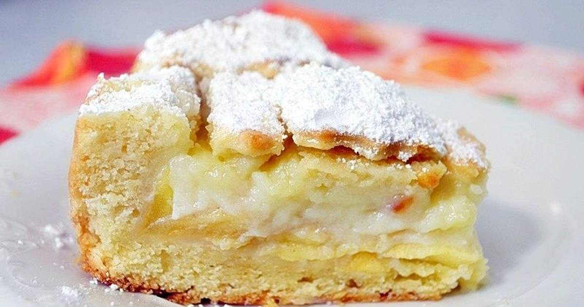 рецепт нежного яблочного пирога с фото знала себя тратила