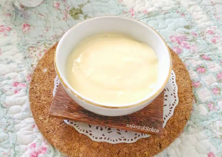 Mayonaise Homemade #ketopad