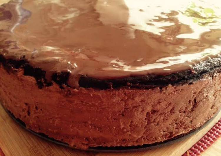 Easiest Way to Make Speedy Chocolate Mousse Cake