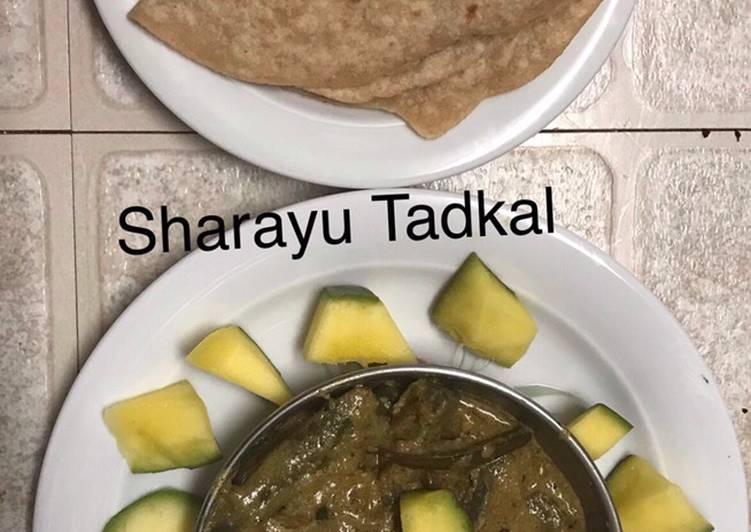 Brinjal Capsicum curry (Jain curry)