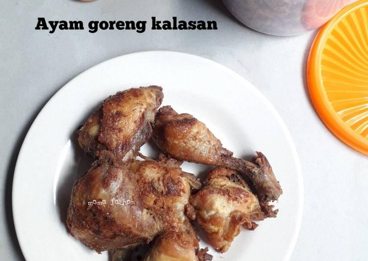 Langkah Mudah untuk Menyiapkan Ayam goreng kalasan Anti Gagal