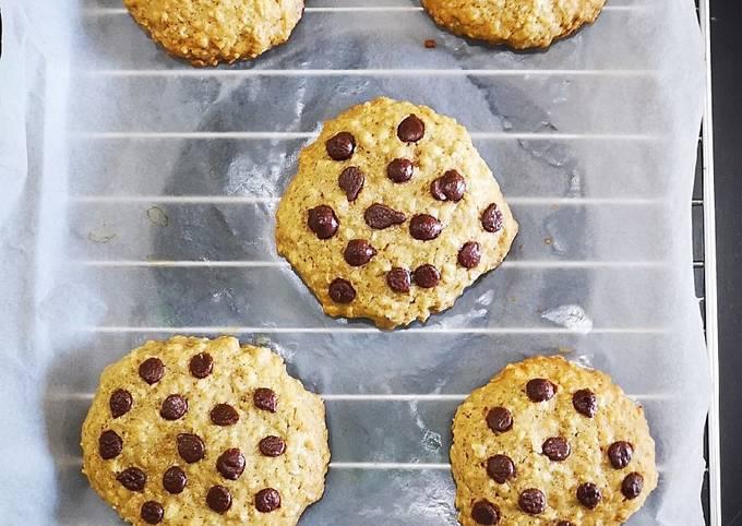 Recipe Crunchy Oatmeal Cookies