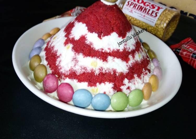 Pyramid dessert