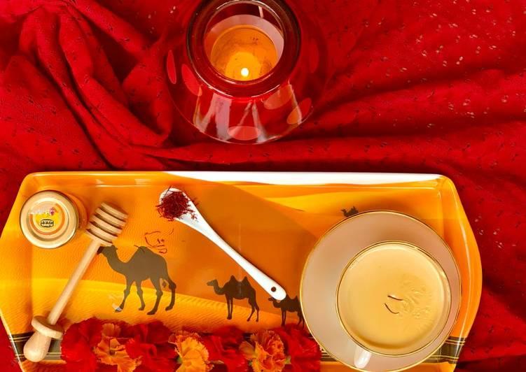 Recipe of Ultimate Saffron honey tea