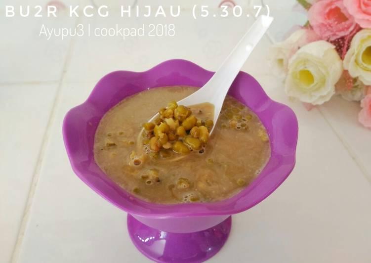 Bubur kacang hijau (5.30.7)