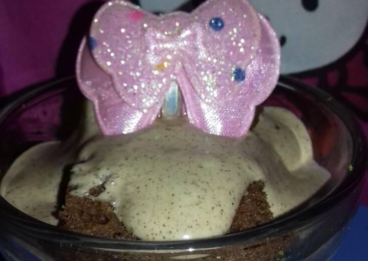 Cake dalgona coffe