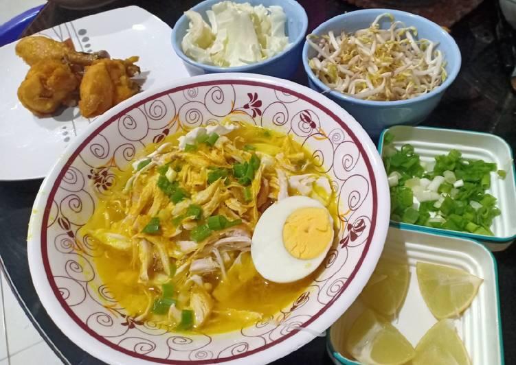 Resep Soto Ayam Bening, Menggugah Selera