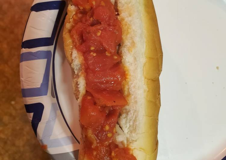Freddy's tasty hot dog recipe