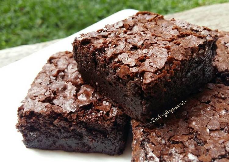 Brownies Kopi a-la Indi