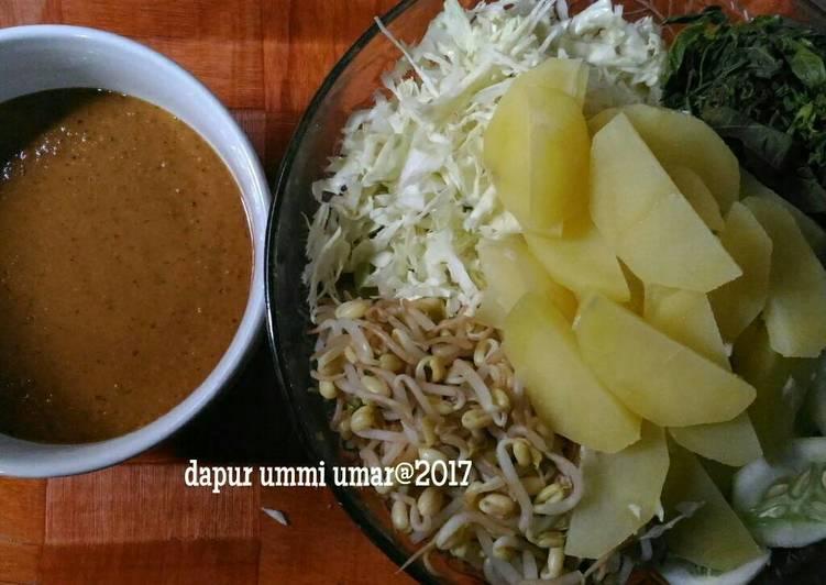 Pical (pecel sayuran)