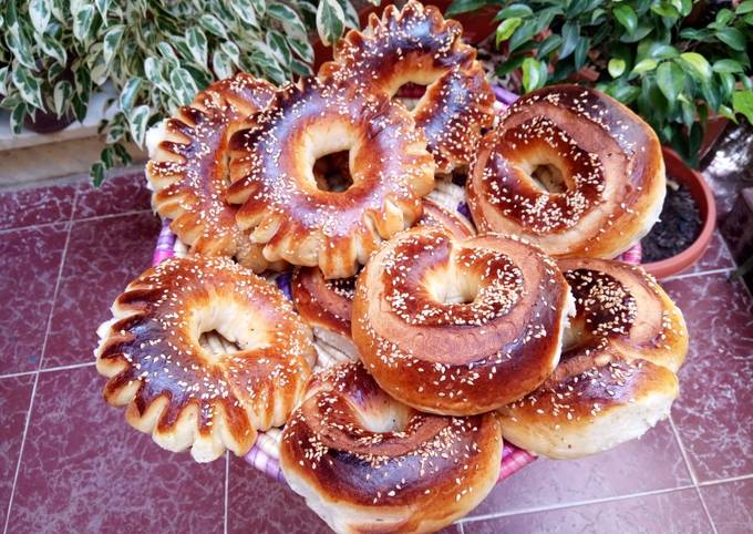 Petits pains au lait parfumés a la fenouil
