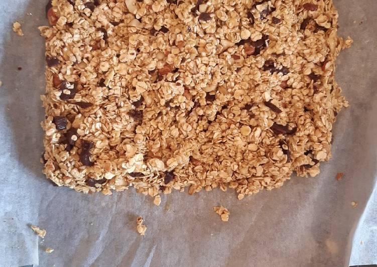 Barre de céréale choco-noisette🍫