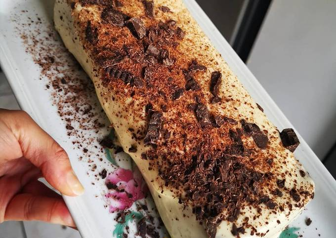Cake vanille chocolat blanc