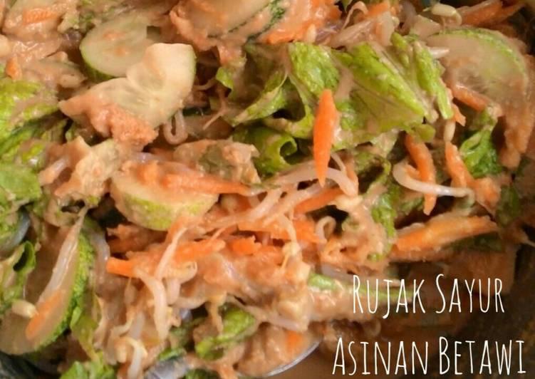 Asinan Betawi / Rujak Sayur