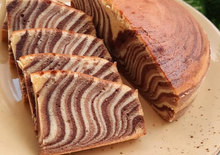 Tiger Cake a.k.a Bolu Macan Bangka