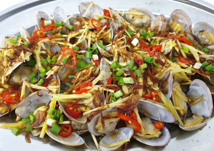Easiest Way to Make Perfect Steam Clam 蒸蚌壳