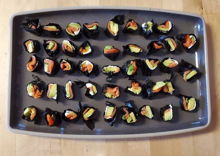 Easiest Way to Cook Appetizing Keto Sushi