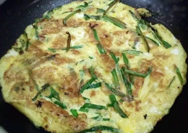Resep Niratama (Telur Dadar Kucai ala Jepang) Bikin Ngiler
