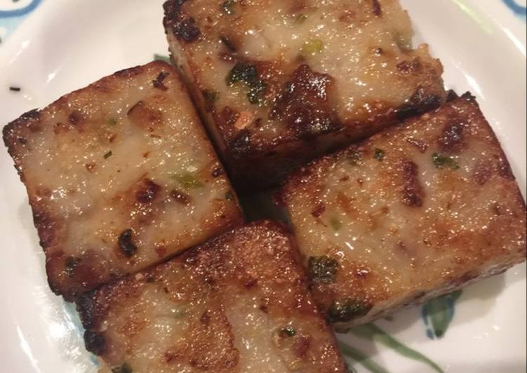 Turn to Food to Elevate Your Mood Chinese Turnip Cake (Lo Bak Go)